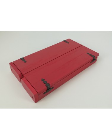 leaning Butsudan Travel Red
